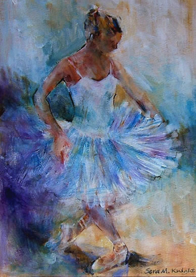Ballet Dancers - Gallery of Dance Paintings by Woking Surrey Artist Sera Knight - Ballet Classes
