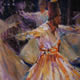 "Whirling Dervishes - Gallery of Dance Paintings by Woking Surrey Artist Sera Knight - The Whirling Dervishes"", believe in performing their dhikr in the form of a ""dance"" and music ceremony called the sema."