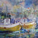 Fishing Boats - Boats Gallery of Paintings by Horsell Woking Surrrey Artist Sera Knight