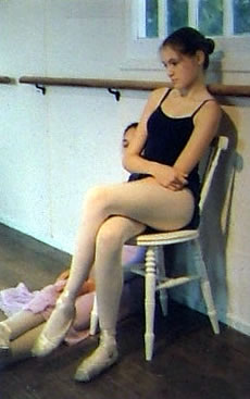 Photo of young ballet dancer - Inspiration for Painting Commission