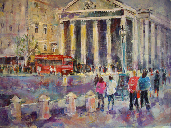 London Art Gallery - St Martin In The Fields, London Painting