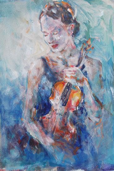 Violinist - Music Art Gallery